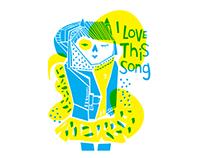 Ilustración - I love this song
