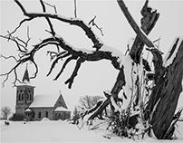 zimní krajina/ winter landscape 2017
