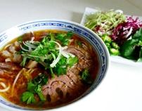 cách nấu Bún Bò Huế– Vietnamese Spicy Beef Noodle Soup