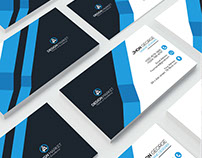 Free Creative Personal Business Card Psd Template