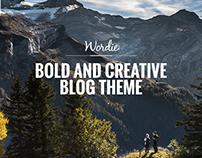 Wordie - Bold & Creative Blog Theme