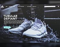adidas® - Landing Page Design