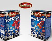 Popcorn Package Design
