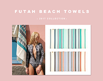 FUTAH BEACH TOWELS || 2017 collection