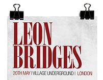 Leon Bridges poster