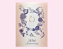 SHISEIDO BENEFIQUE 20th Anniversary BRAND BOOK