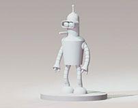 Bender-render I 3ds Max