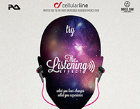 Cellularline - Headphones - Audio Mob