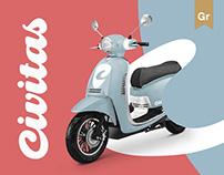 Civitas e-scooter