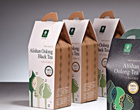 佶士生機 - 有機茶包裝設計專案