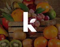 Kfruit Branding Design