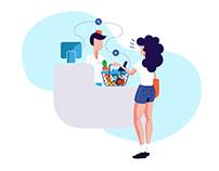 App Flow Illustration