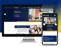 Site do Colégio Educação Adventista