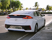 Hyundai Ioniq Hybrid / Photograph