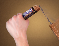 Animated Snickers - Spin It with Snickers
