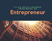6 Life Skills Learned from Being an Entrepreneur