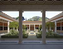Villa reconstruction 2, Pompeii, Italy