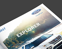 ford Explorer Magazine Advertisement