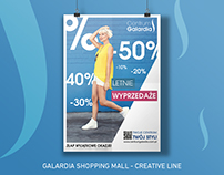 Galardia Shopping Mall - creative line - process