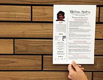 Work Portfolio and Resume Design