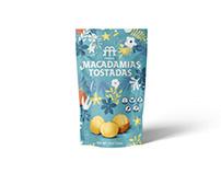 Makmia Macadamias Tostadas · Packaging