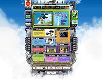 Digiturk Çocuk Kulübü Portalı Html Site (Drawing site)