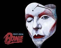 Magazine Cover | David Bowie Tribute TIME