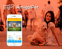 AmigalPet App / UI Design