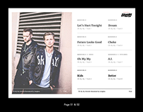 OneRepublic Website Redesigned
