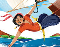SINBAD THE SAILOR - illustrations for NUINUI