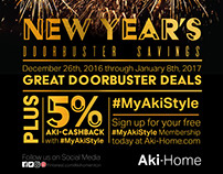 New Years Sale, 2017