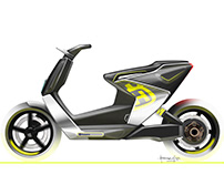 Husqvarna Electric MotoScooter