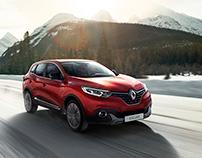 Renault Kadjar Exterior - Full CGI