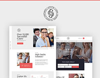 Multiskin Lawyer & Legal Adviser WordPress Themes