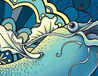 Fish Mural Design