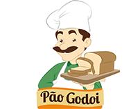 Redesenho de personagem - Pão Godoi
