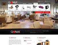 Qonia Kuaför Mobilyaları
