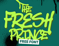 The Fresh Prince - free font