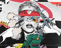 Collage Artwork 305-311