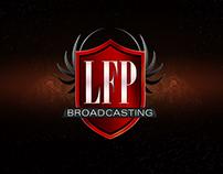 LFP Broadcasting logo design