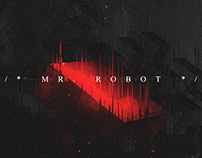 MR ROBOT TITLE DESIGN (unofficial concept)