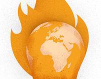 La planète s'enflamme...