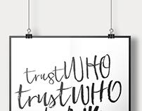 trust who.