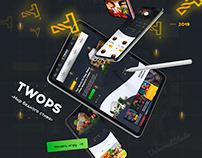 """Разработка Веб-дизайна для TWOPS """"Мир бедного стива""""!"""