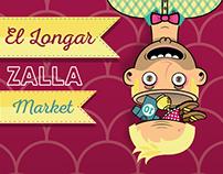 Carteles para evento: El Longar Zalla Market