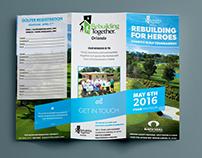 Tri-Fold Brochure | Golf Event