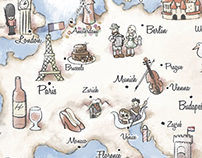 Illustrated Map Luggage - Heys International