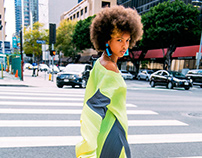 Womans Afro Fashion