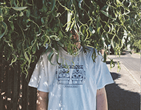GETxxLOST Botanical Club t-shirt