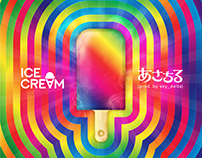 ICECREAM - あさちる(prod. by sky_delta) - Artwork & Design